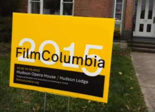 Film Columbia sign