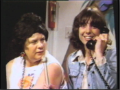 Harriet and Nancy on the phone